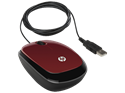 Imagem de MOUSE HP X1200 RED WIRED