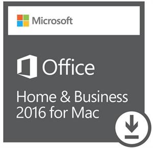 Imagem de MICROSOFT OFFICE HOME & BUSINESS 2016 PARA MAC – 32 / 64 BITS